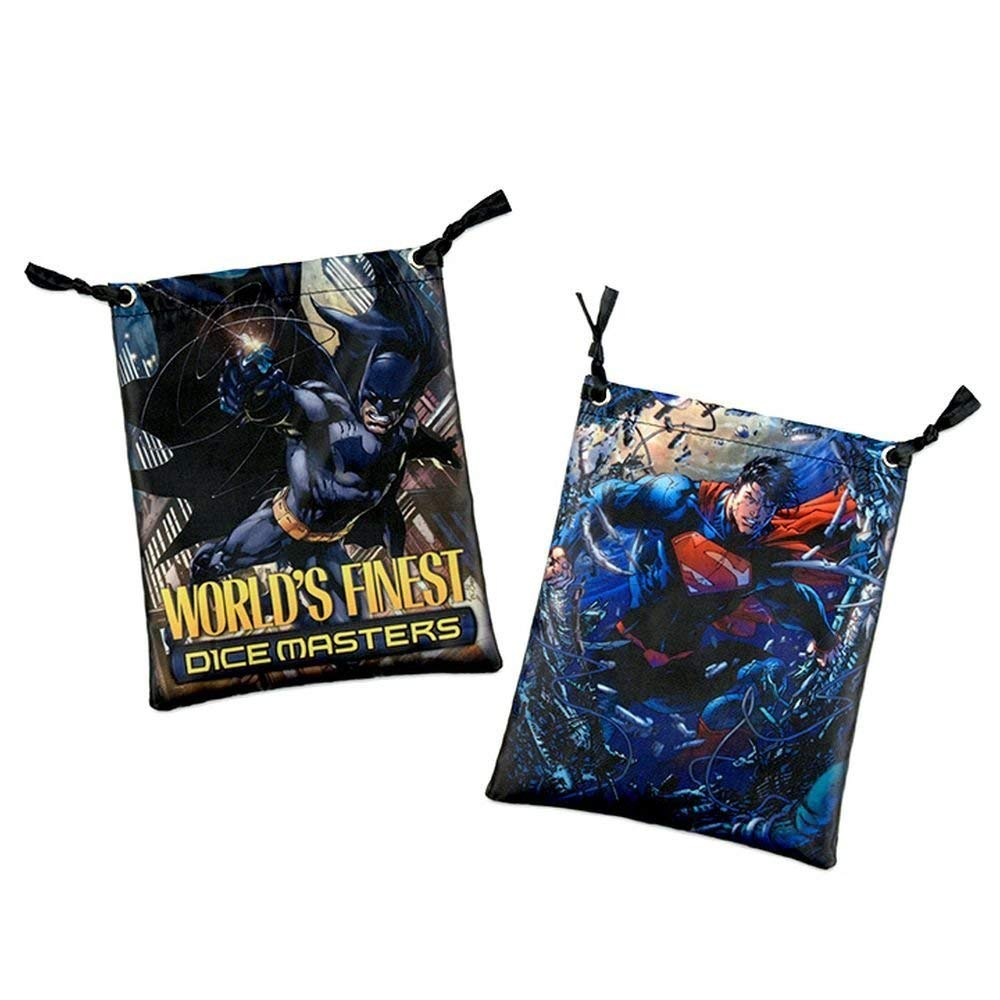 Dice Masters: DC World's Finest Dice Bag (Batman & Superman)