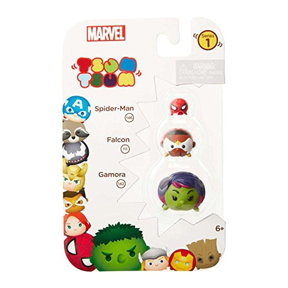 Marvel Tsum Tsum 3-Pack: Gamora/Falcon/Spiderman