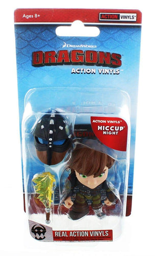 How To Train Your Dragon: Hiccup (Night)- Action Vinyl