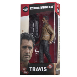 "Fear The Walking Dead: Travis Manawa 7"" Collectible Action Figure"