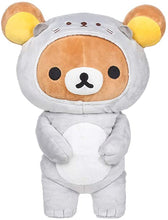 Load image into Gallery viewer, Rilakkuma Gray Sea Otter Plush