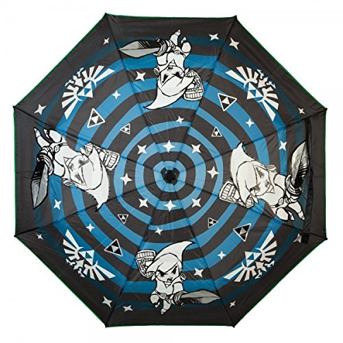 Legend of Zelda Liquid Reactive Color Changing Compact Umbrella