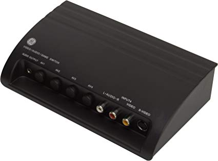 Four-Device Audio/Video Switch