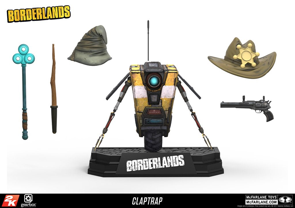 Borderlands Claptrap Action Figure