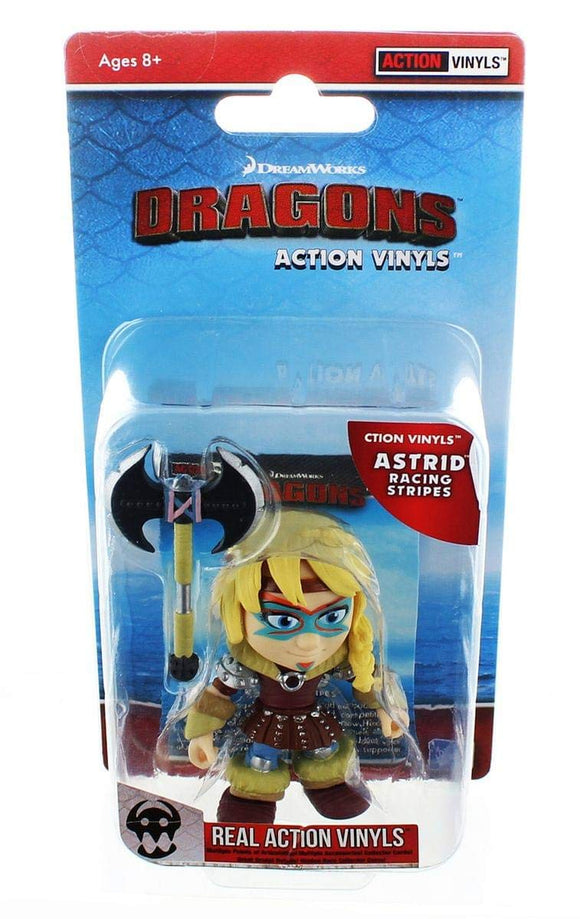 How To Train Your Dragon: Astrid (Racing Stripes)- Action Vinyl