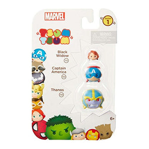 Marvel Tsum Tsum 3-Pack: Thanos/Captain America/Black Widow