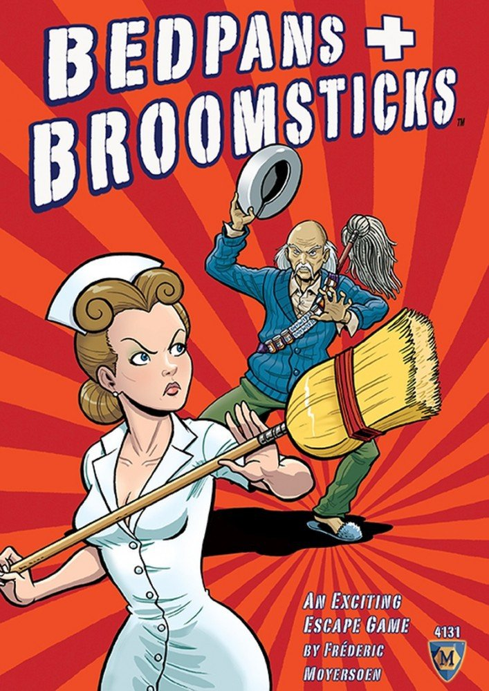 Bedpans and Broomsticks: Escape from Shady Pines