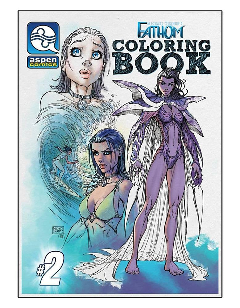 Fathom Coloring Book, Vol. 2