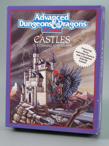 Advanced Dungeons & Dragons 2nd Edition: Castles - A 3-Dimensional Game Accessory