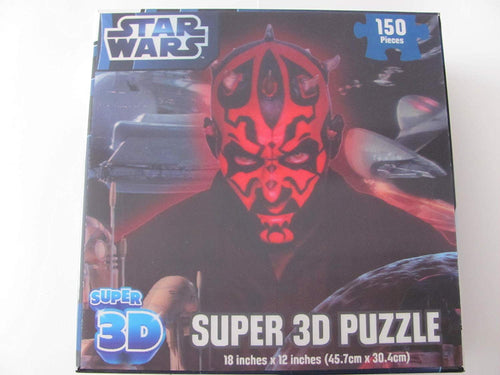 Star Wars: Super 3D Puzzle - Darth Maul (150 Pieces)