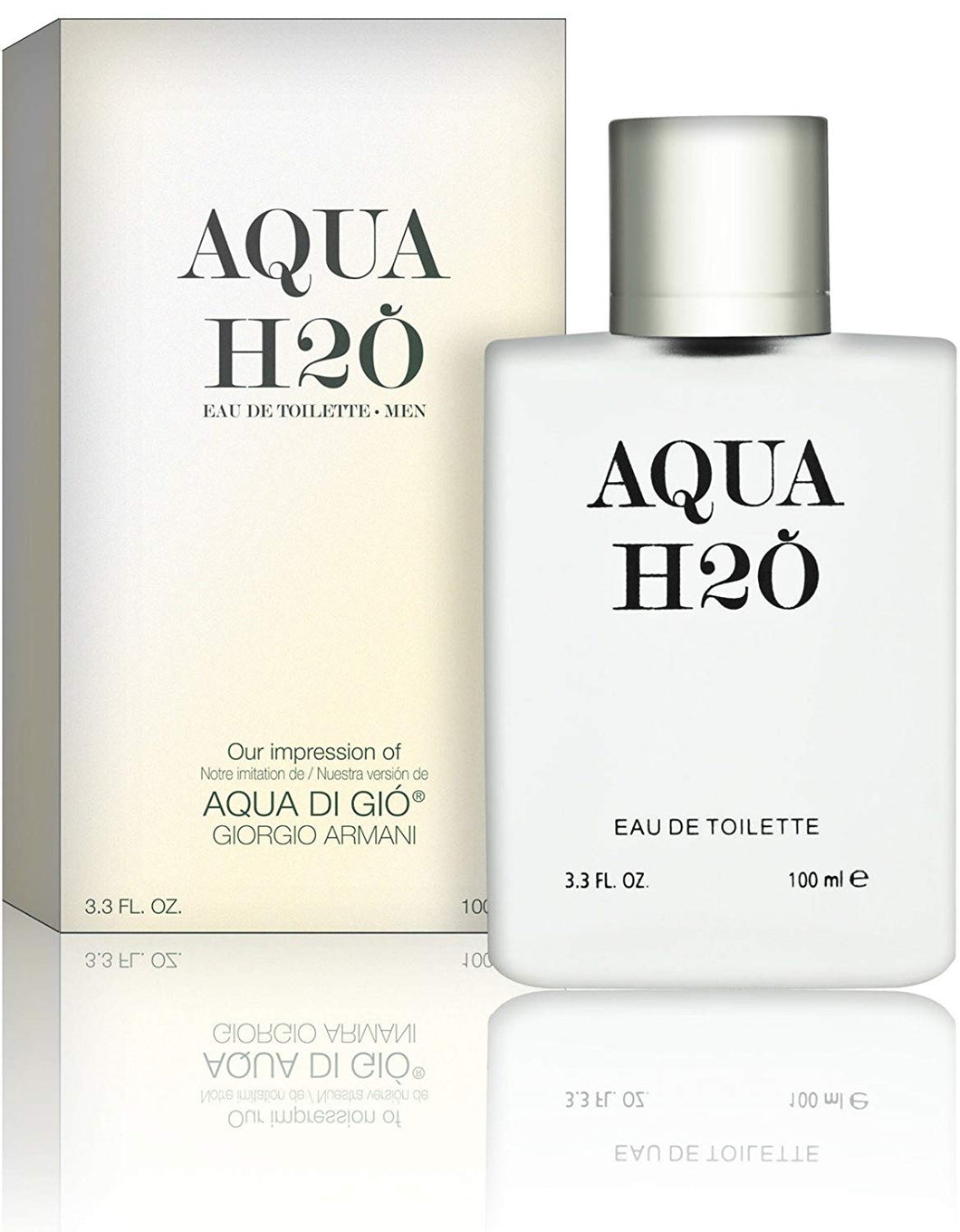 Aqua H20 Cologne for Men