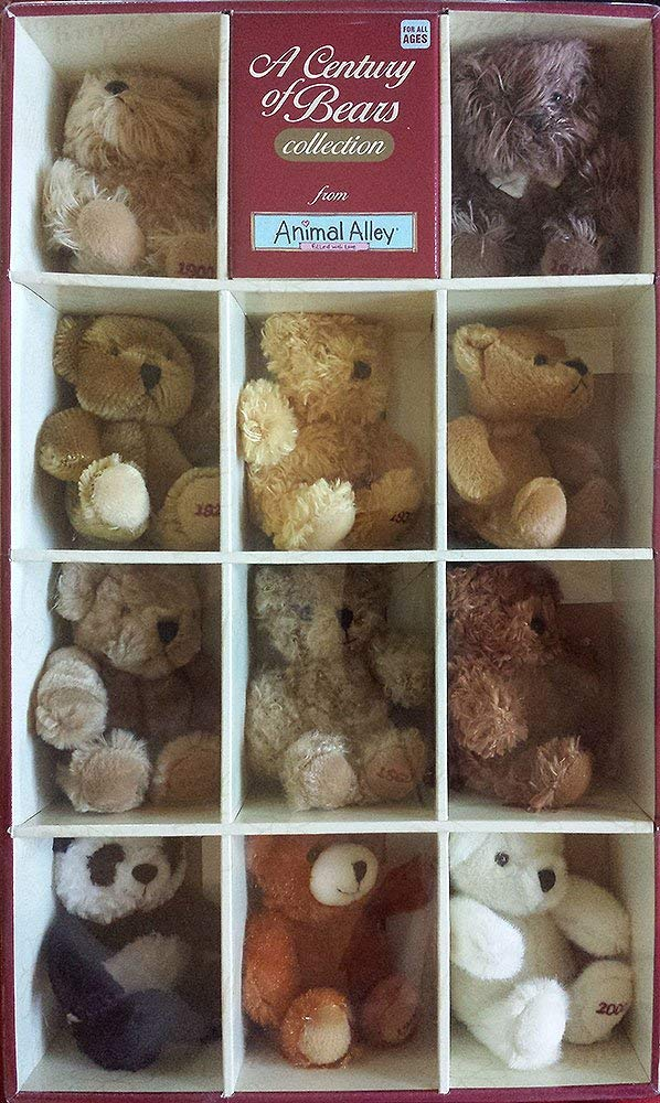A Century of Bears Collection from Animal Alley