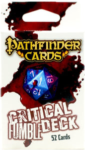 Pathfinder RPG: Critical Fumble Deck