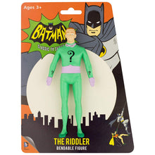 Load image into Gallery viewer, Batman 1966 Classic TV Series: The Riddler Bendable Figure
