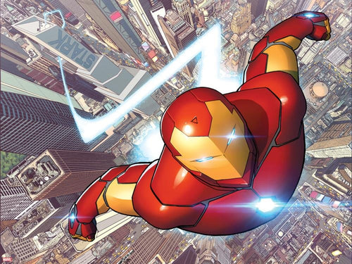 Invincible Iron Man #1 Cover Poster