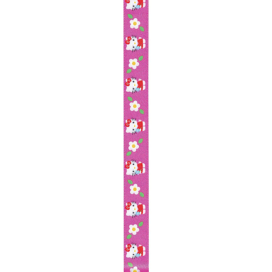 Hello Kitty Craft Ribbon, Hot Pink