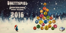 Load image into Gallery viewer, Brettspiel Adventskalender 2016 (Advent Calendar)