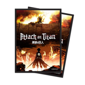 "Attack on Titan ""The Beginning"" Deck Protector Sleeves (65ct)"