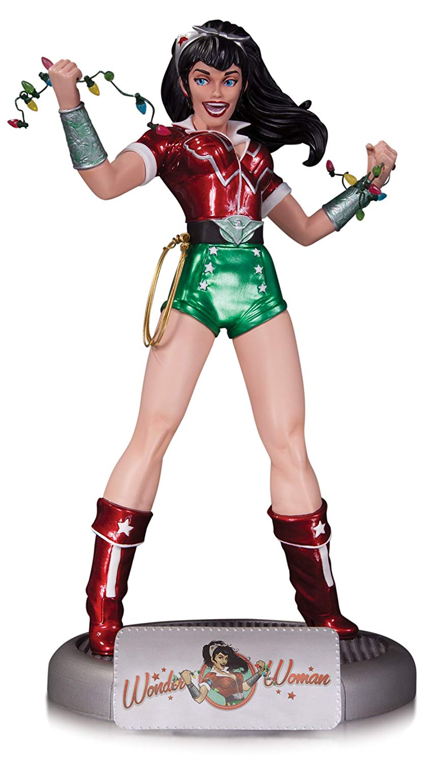 DC Bombshells: Holiday Wonder Woman Statue