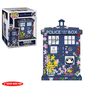 "Pop! Television: Doctor Who - 6"" Tardis Clara Memorial"