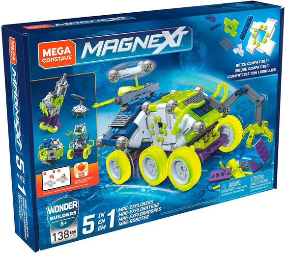 Mega Construx: Magnext - 5 in 1 Construction Set