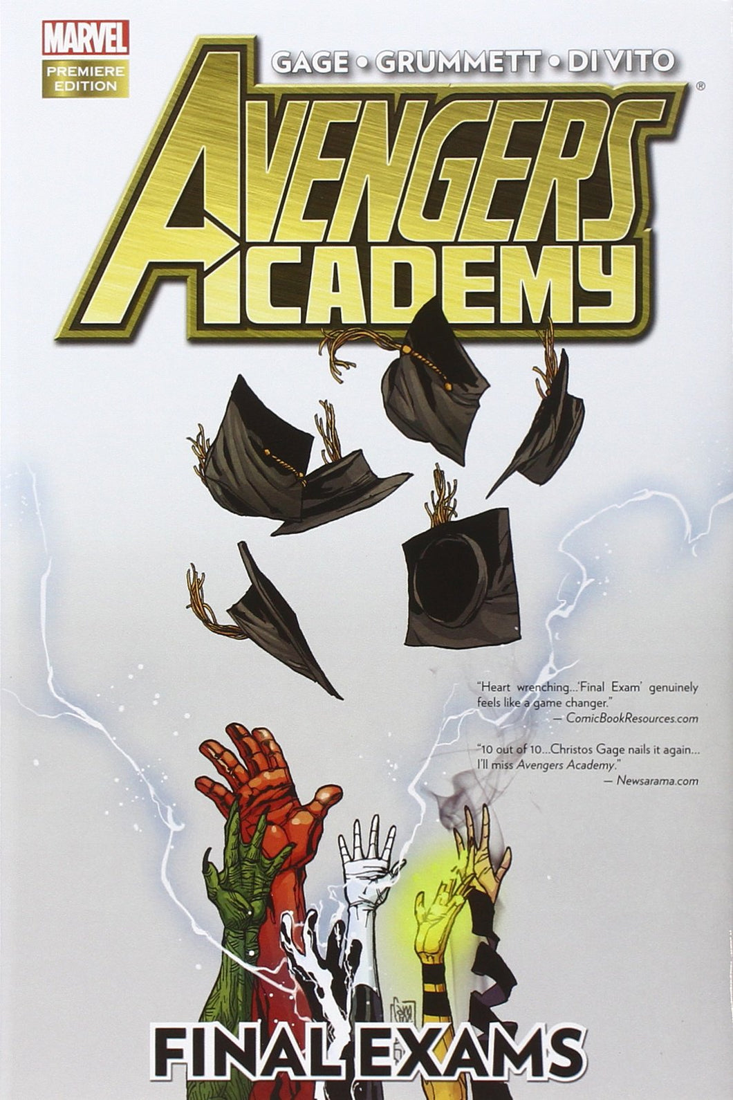 Avengers Academy: Final Exams [Hardcover]