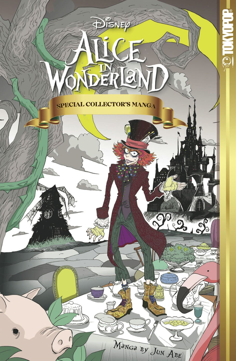 Alice in Wonderland: Special Collector's Manga [Hardcover]