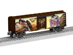 Wonder Woman Train Boxcar by Lionel