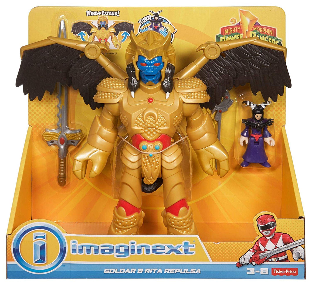 Imaginext Power Rangers Goldar and Rita
