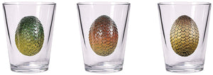 Game of Thrones Dragon Egg Shot Glass Set