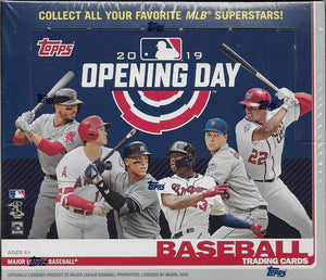 2019 Topps Opening Day Baseball Cards