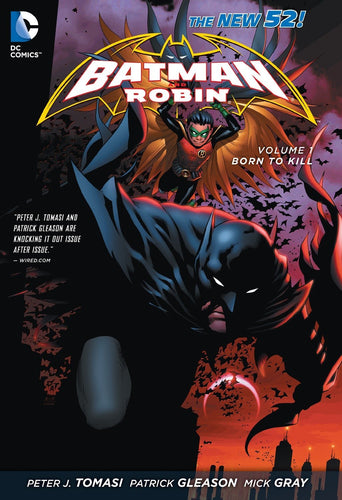 Batman and Robin Vol. 1: Born to Kill (The New 52) [Paperback]