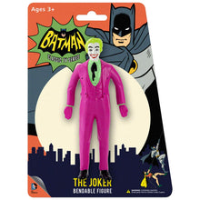 Load image into Gallery viewer, Batman 1966 Classic TV Series: The Joker Bendable Figure
