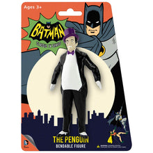 Load image into Gallery viewer, Batman 1966 Classic TV Series: The Penguin Bendable Figure