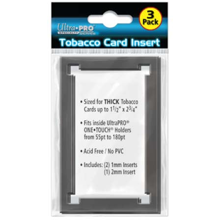 Tobacco Card Frame Insert Pack for ONE-TOUCH Holders