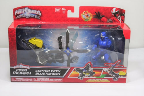 Power Rangers Ninja Steel: Mega Morph - Copter with Blue Ranger
