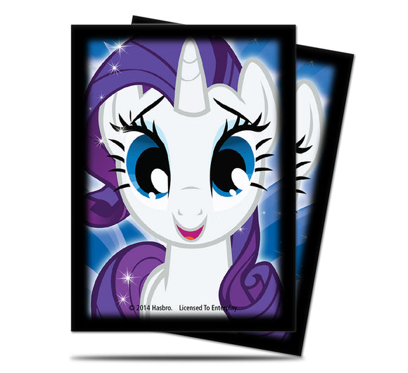 My Little Pony Rarity Deck Protector Sleeves