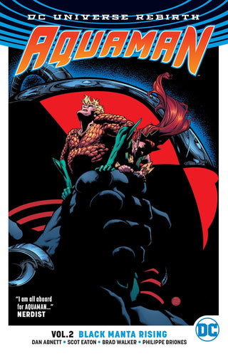 Aquaman Vol. 2: Black Manta Rising (Rebirth) [Paperback]