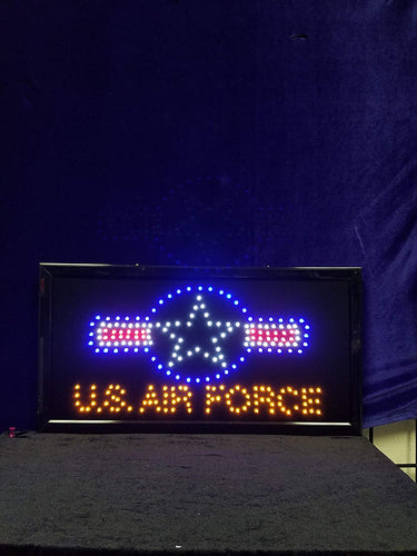 LED Animated Sign - US Air Force