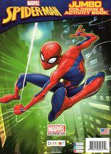 Load image into Gallery viewer, Marvel Spider-Man Jumbo Coloring and Activity Book