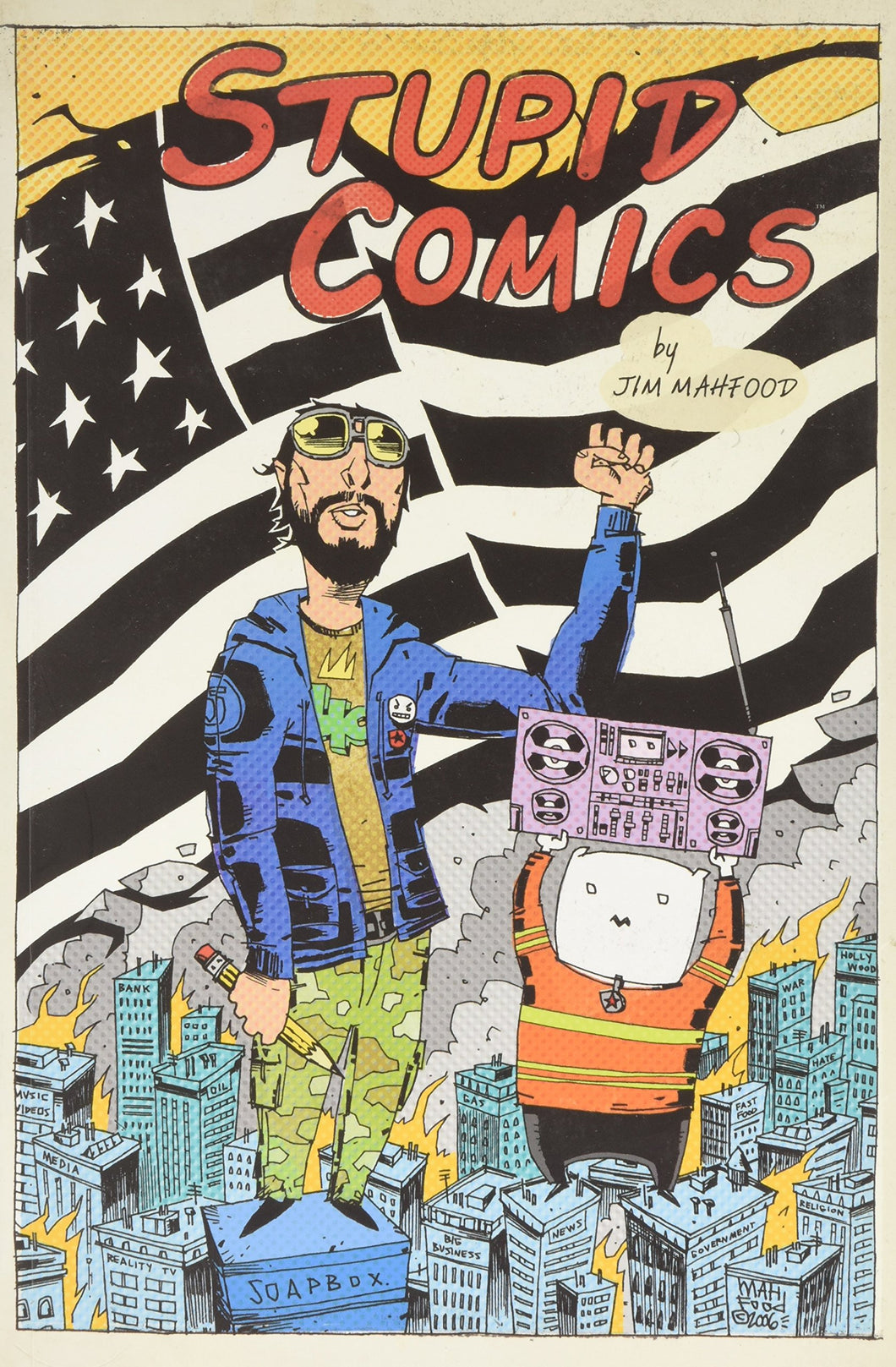Stupid Comics Collection (Vol. 1) [Paperback] [Jul 04, 2006] Mahfood, Jim