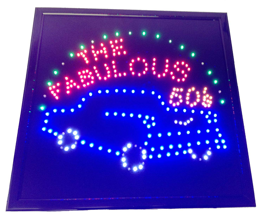 LED Animated Sign - The Fabulous 50's