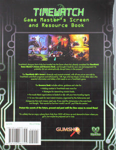 The TimeWatch RPG: GM Screen and Resource Book