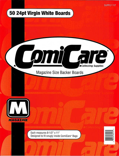 ComiCare Magazine Size Backing Boards