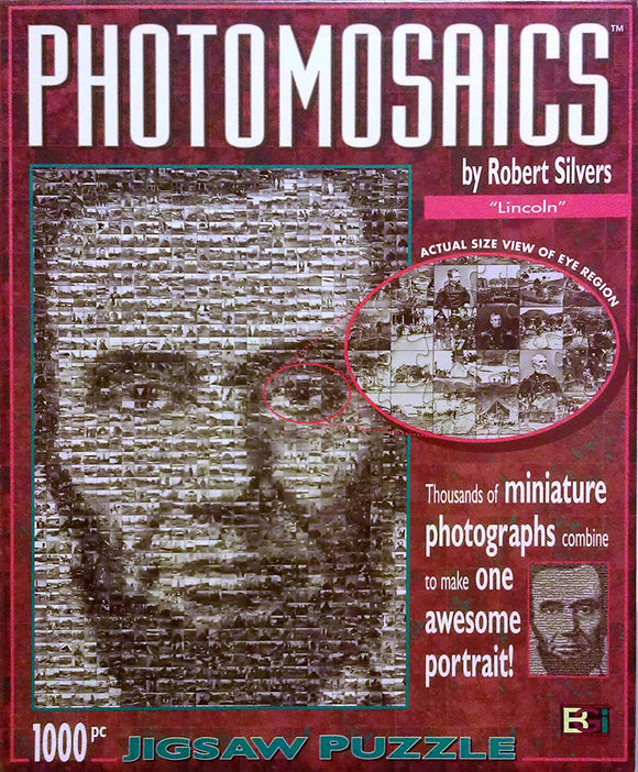 Photomosaics: Lincoln Puzzle