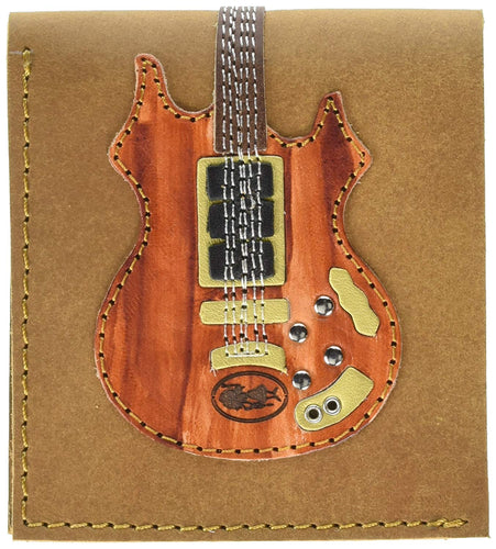 Garcia Rosebud Guitar Wallet - Handmade from Genuine Leather