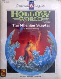 Dungeons & Dragons RPG: Hollow World - The Milenian Scepter
