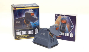 Doctor Who K-9 Light-and-Sound Figurine and Illustrated Book
