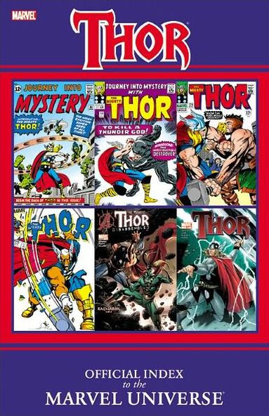Thor: Official Index to the Marvel Universe