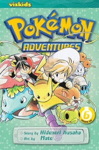 Pokemon Adventures, Volume 6